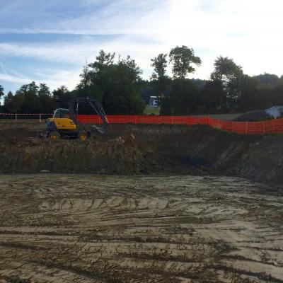 Génie civil: excavation et canalisations