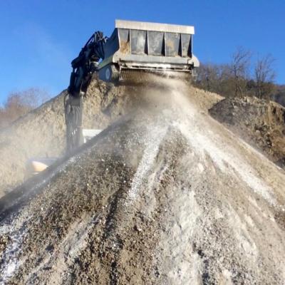 Préparation / recyclage de la terre d'excavation