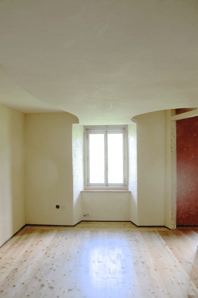 Enduit chanvre dans maison de maitre renovee sous plafond en staff design