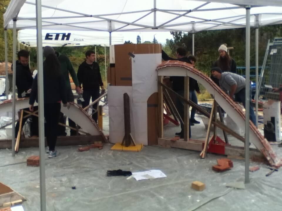 Voute Brickworks: Masonry vaulting 02