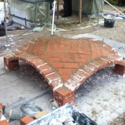 Voute Brickworks: Masonry vaulting 01