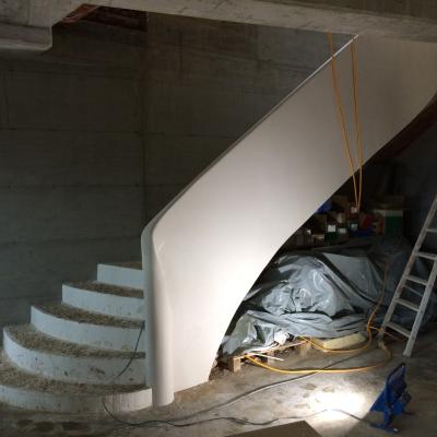 Escaliers sur voûte sarrasine