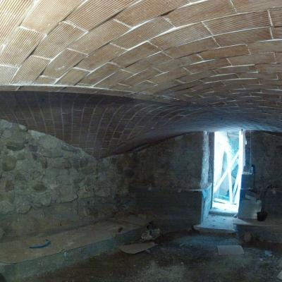 Voûte sarrasine Vers-Cort cave
