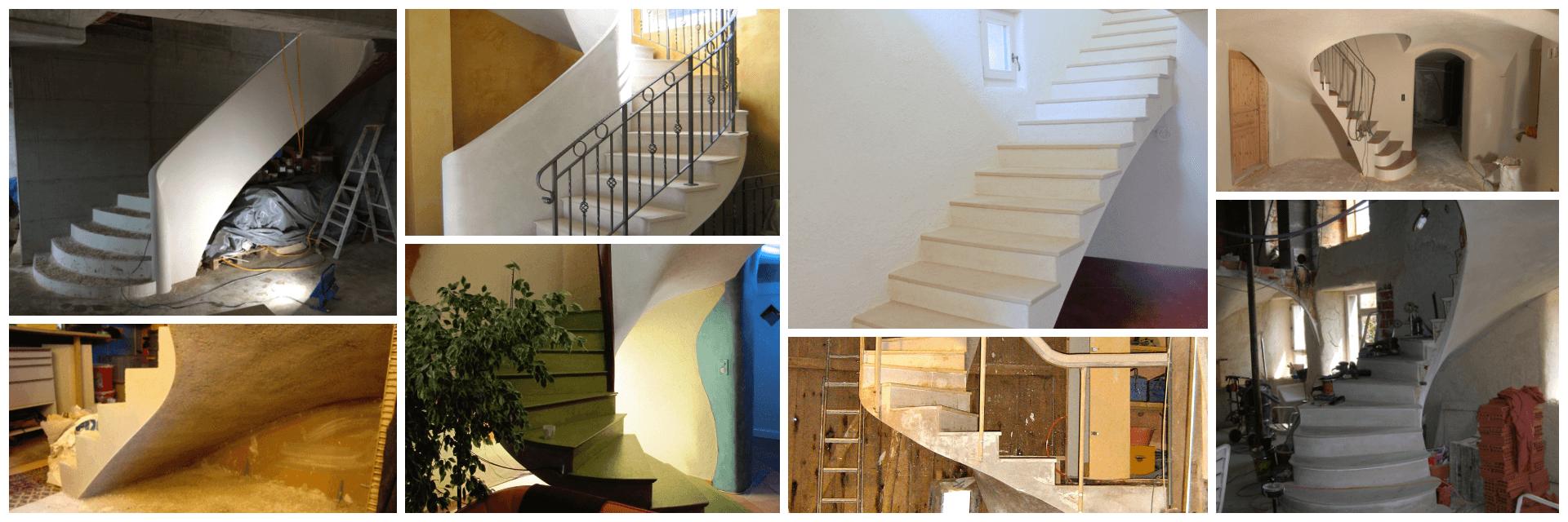Album escaliers voute sarrasine