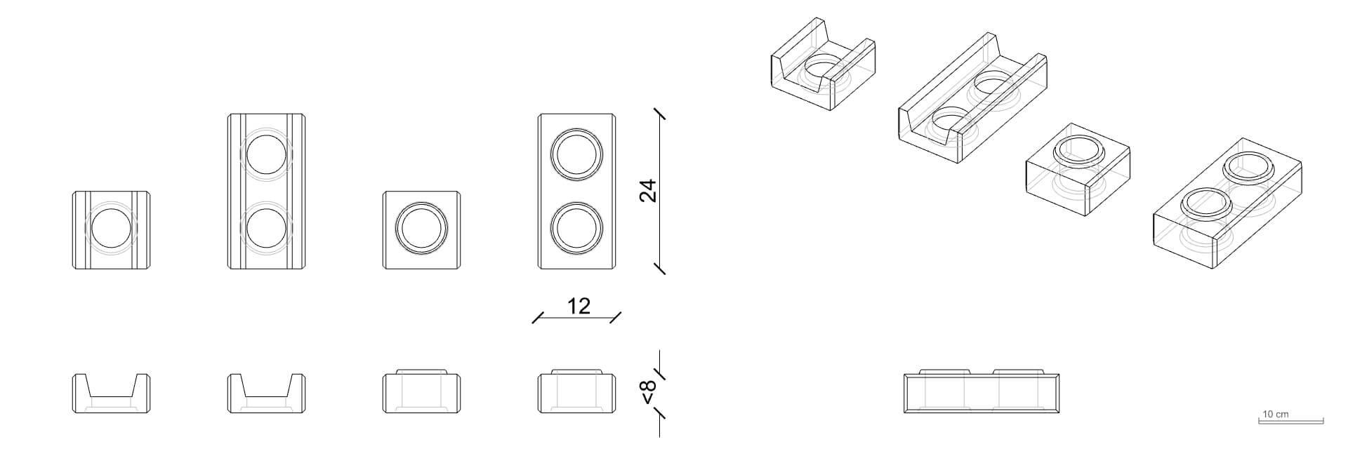 Brique modulaire
