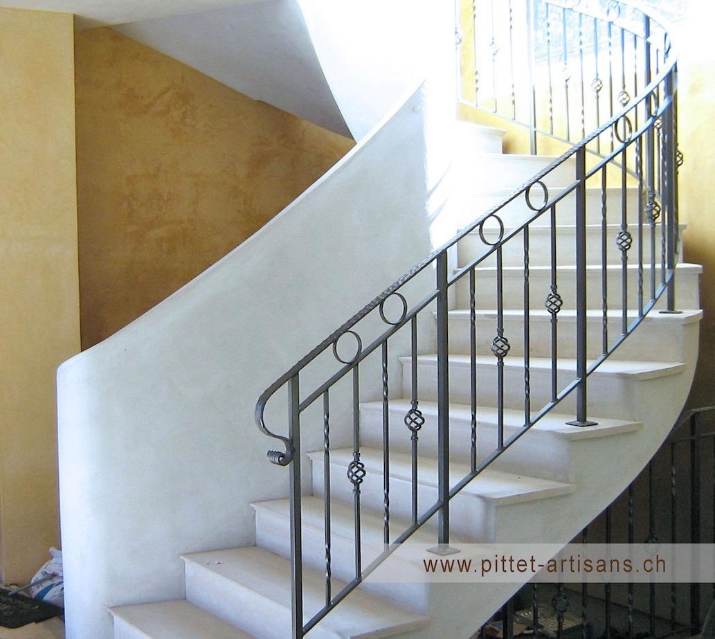 Escalier Bois Entre Deux Murs escaliers sur mesure, modernes, designs, tournants