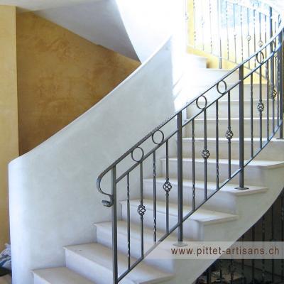 Escaliers apres