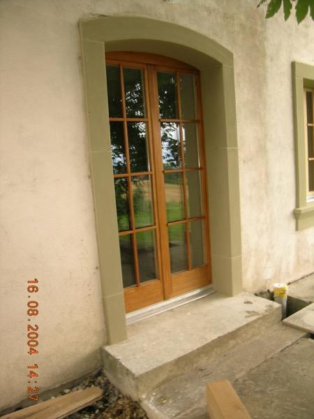 Encadrement de porte fenêtre